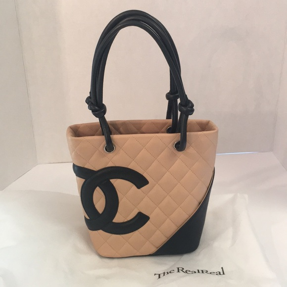 0f88b9776e53 CHANEL Handbags - Chanel Cambon quilted leather Petite tote